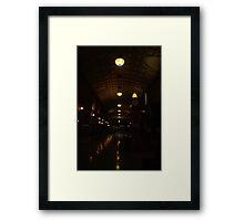 Midnight Arcade Framed Print