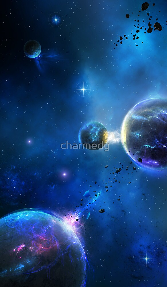 Blissful Space by charmedy