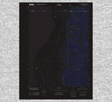 USGS Topo Map California Willow Ranch 20120312 TM Inverted Kids Tee