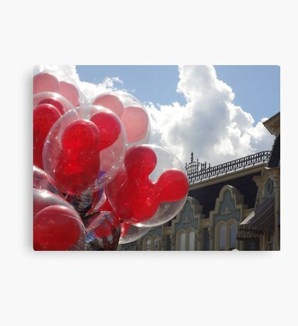 Main Street Balloons Canvas Print