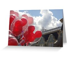 Main Street Balloons Greeting Card