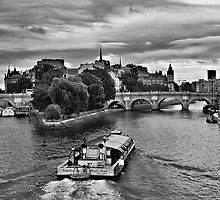 Pont neuf boating by Vicki Moritz