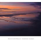 Sunrise at Foo Chow Beach - Flinders Island by FocusImagery
