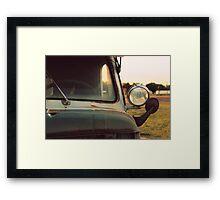 Rusty. Framed Print