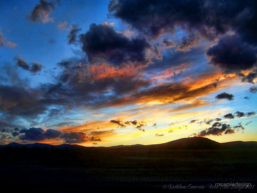 Sunset over Elmo by rocamiadesign