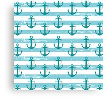 AFE~Nautical-Anchor pattern Canvas Print