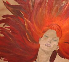 Girl on Fire by Kira by Natalie Bester