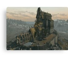 Skyrim Dragonsreach Canvas Print