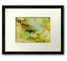 Neolithic Deer Hunter Framed Print