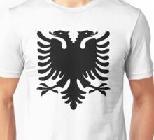 Albanian Double Headed Eagle Unisex T-Shirt