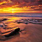 Fairy Lagoon sunburst by Geraldine Lefoe
