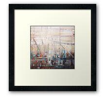 Geometric City 1 Framed Print