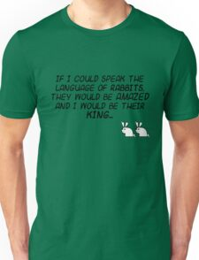 King of the Rabbit Unisex T-Shirt