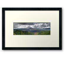 Gunung Batur Framed Print