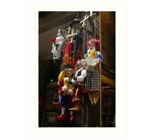 Puppets Art Print