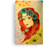 Goddess of the Sparkly Meadows Canvas Print