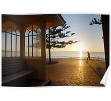 Sunrise in Manly Poster