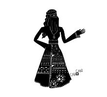 Jumanna- Arabic Shadow Character by Farisb