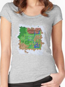 Realms of Hyrule Women's Fitted Scoop T-Shirt