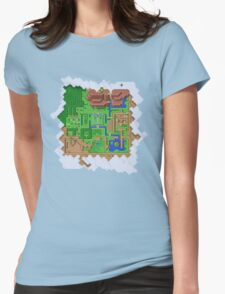 Realms of Hyrule Womens Fitted T-Shirt