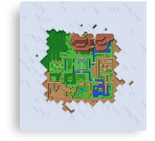 Realms of Hyrule Canvas Print