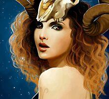 The Zodiac: Aries by Lisa Furze