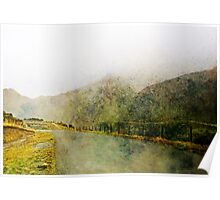 Along the Foggy Road Poster