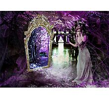 Through the Mirror of Her Dreams Photographic Print