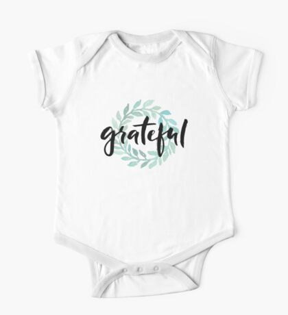 Grateful One Piece - Short Sleeve