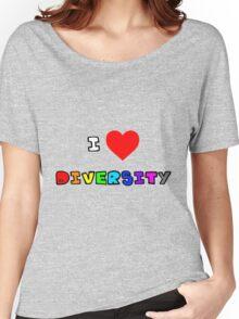 I Heart Diversity Women's Relaxed Fit T-Shirt