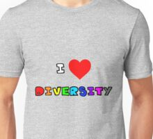 I Heart Diversity Unisex T-Shirt
