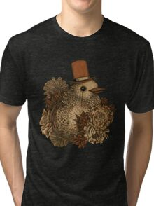 A Very Dapper Bird Tri-blend T-Shirt