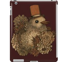 A Very Dapper Bird iPad Case/Skin