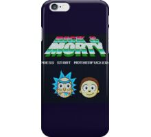 Rick and Morty Game iPhone Case/Skin