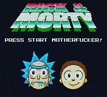 Rick and Morty Game by boostedartwork