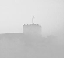 Still flying the flag against the weather. by clickinhistory