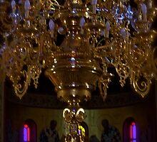 Fira -  Cathedral Agios Ioannis Prodhromos . Greece . by Brown Sugar by © Andrzej Goszcz,M.D. Ph.D