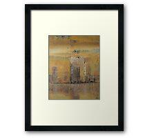 Reflected cityscape Framed Print