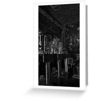 Bar Greeting Card