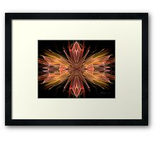 Glowing PONG  Framed Print