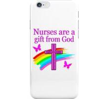 CHRISTIAN NURSES DESIGN iPhone Case/Skin