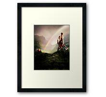 """""""Long live the beloved Saxon!"""" Framed Print"""