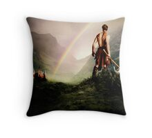 """Long live the beloved Saxon!"" Throw Pillow"