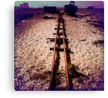 Tracks #1 Canvas Print