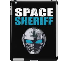 Space Sheriff - Distressed iPad Case/Skin