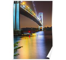 Verrazano Bridge Brooklyn NY Poster