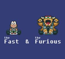 the Fast & The Furious kart