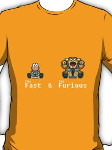 the Fast & The Furious kart T-Shirt