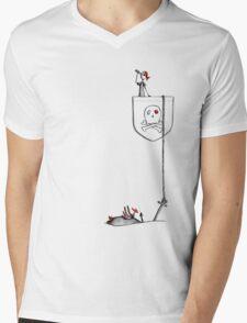 Pocket Pirate - Dropping Anchor Mens V-Neck T-Shirt