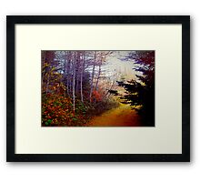 Once Upon a Fall Framed Print